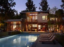 Luxury Modern American House Exterior Design Exemple De Maisons Moderne Luxueuse En Bois RT2012