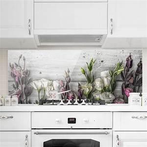 Küchen Spritzschutz Glas : spritzschutz glas tulpen rose shabby holzoptik panorama quer ~ Eleganceandgraceweddings.com Haus und Dekorationen