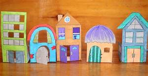 Paper Houses - Free Printables to Color and Play! - Moms ...