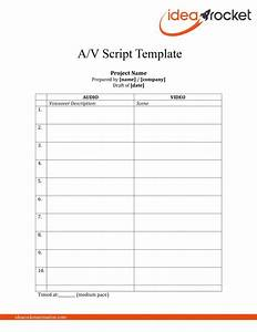 steal this script free video script template download With promotional video script template