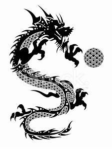 2012 中国飞龙与球的剪贴画 照片素材 - FreeImages.com