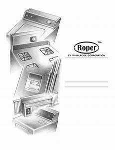 Download Roper Clothes Dryer 3405639a Manual And User