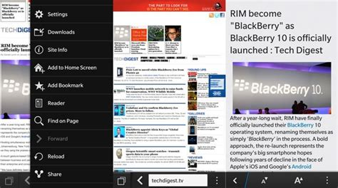 review bb10 blackberry 10 os an in depth at the new operating system tech digest