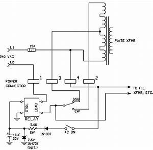 Drake L4b Amplifier Solid State Relay Modification