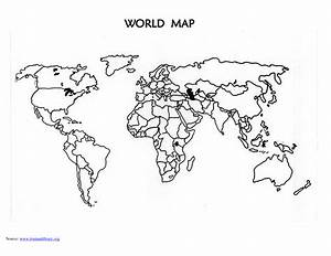 World map stencil printable folded world map powerpoint template slidemodel gumiabroncs Gallery