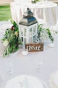 Lantern, Floral, And, Herb, Centerpieces