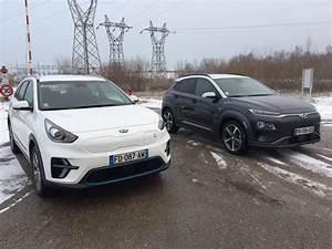 Essai Hyundai Kona Electrique : kia e niro vs hyundai kona essai comparatif des deux suv lectriques cor ens ~ Maxctalentgroup.com Avis de Voitures