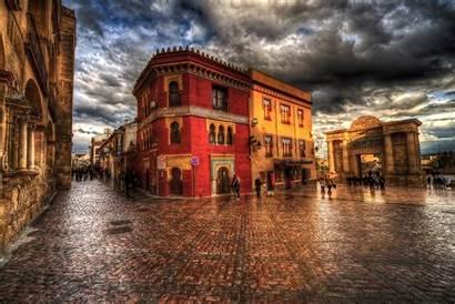 Cordoba Spain Wallpapers Street Town Houses Andalusia
