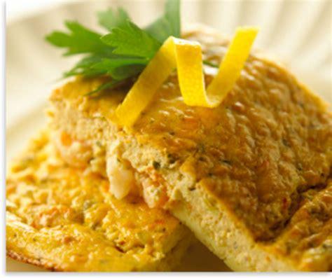 alouette cuisine alouette frittata with baby shrimp recipe food com