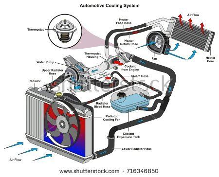 Diagram System Vehicle Cooling by Cool Stock Images Royalty Free Images Vectors