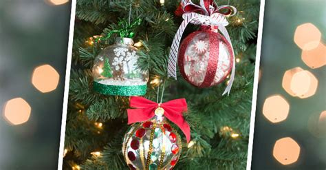how to make your own christmas decorations out of a4 paper filled diy ornaments tips ideas