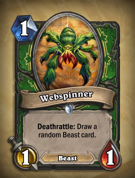 hearthstone beast deck 2014 new beast card for hunters with hearthstone curse of