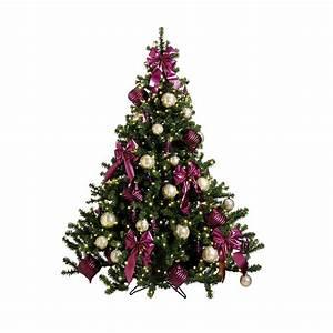 Weihnachtsbaum Geschmückt Modern : deco rbol de navidad motivos fucsias decoraci n en decowoerner ~ A.2002-acura-tl-radio.info Haus und Dekorationen