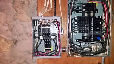 Electrical Sub Panel Improper Installation Youtube