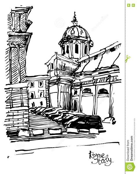 foto da disegnare in bianco e nero disegno di schizzo in bianco e nero paesaggio urbano