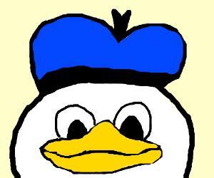 Donald Duck Face Meme - baby sour cream makes a lenny face
