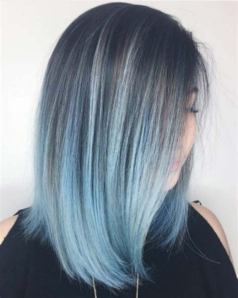 Brown Hair Dying Ideas by Best 25 Brown Hair Dyed Blue Ideas On Dying