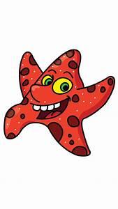 Cartoon Starfish  Starfish And Drawing Tutorials On Pinterest