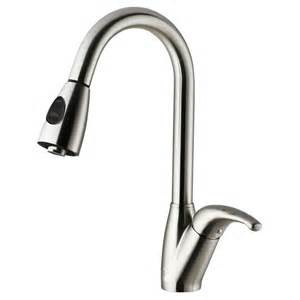 stainless steel faucet kitchen vigo stainless steel pull out spray kitchen faucet the home depot canada