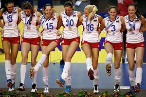 Russian women's volleyball team wins European championship ...