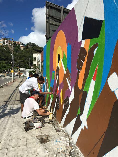 murals vitoria sao paulo  rio de janeiro brazil