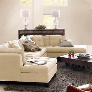 Garner 3 piece sectional sofa arhaus furniture new for Sectional sofas arhaus