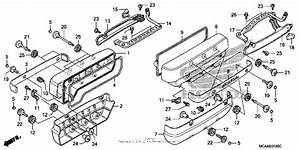 Cylinder Head Cover For 2007 Honda Gl1800