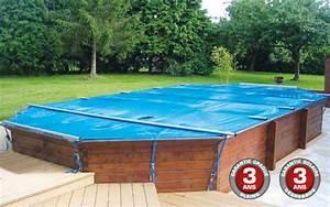Woody : la couverture à barres 4 saisons pour piscines hors sol en bois Mypiscine blog