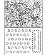 Coloring Valentine Card Crayola Pages Valentines Happy Super sketch template