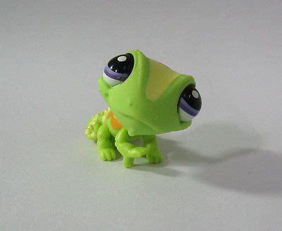 Littlest Pet Shop - CHAMELEON Green cute figure girl toys PS63 Combined ship