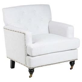 baseldon tufted arm chair in white historic mid city