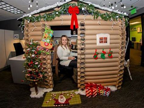 top funny christmas cubicle decorating ideas