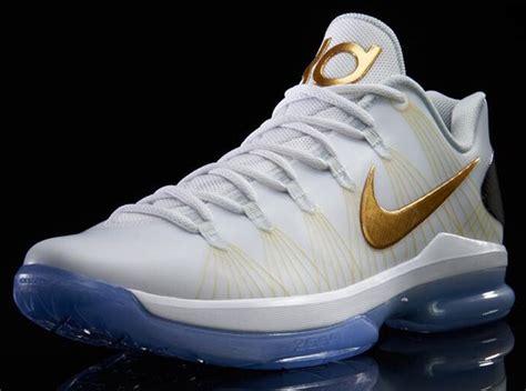 Nike Kd V Elite Metallic Gold