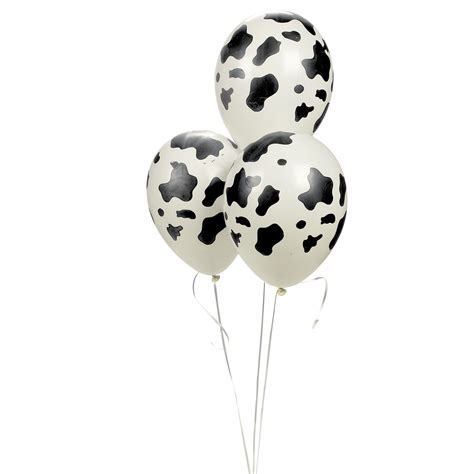 Cowhide Balloons by Cow Print Balloons Partypalooza