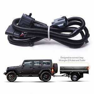 Mictuning 65 U0026quot  Trailer Hitch Wiring Harness Kit 4