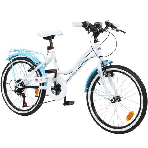 und elsa fahrrad frozen kinderfahrrad m 228 dchen fahrrad 20 zoll disney