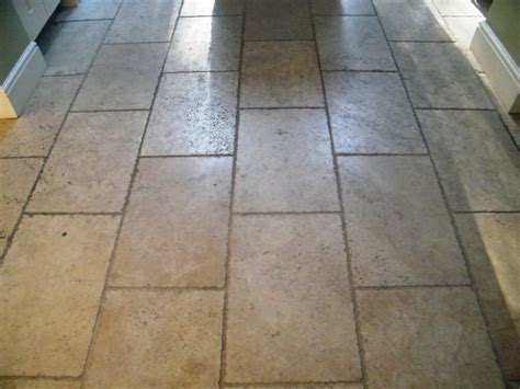 travertine flooring in kitchen travertine kitchen floor cleaned and sealed in 6352