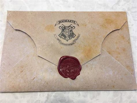 hogwarts envelope contesting wiki