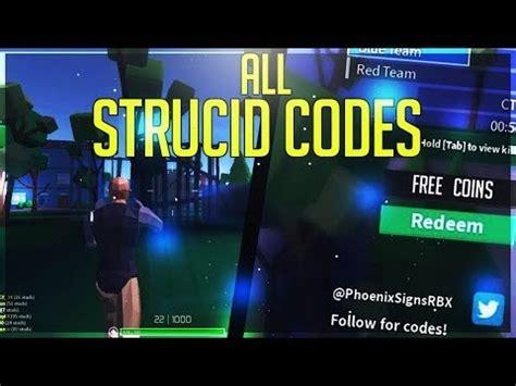 strucid roblox codes december
