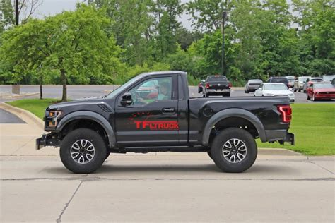 spied single cab ford   raptor caught testingor
