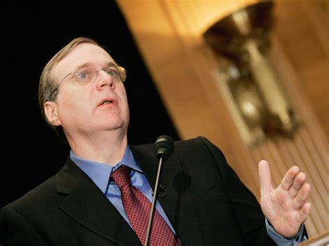 Microsoft Cofounder Paul Allen Has Pledged $100 Million To ...