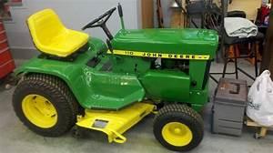 John Deere 110 Garden Tractor Attachments