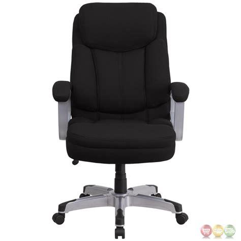 hercules 500 lb office chair hercules 500 lb capacity big black fabric
