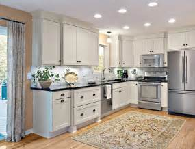 buffet kitchen island black white kitchen trending industrial luxe design