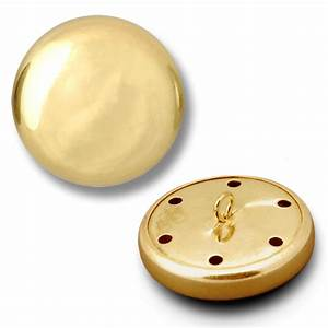 Metal Button with Shank, BEA-20836