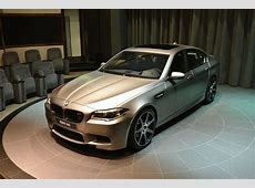 BMW M5 30 Jahre Edition Shows Up in Abu Dhabi [Live Photos
