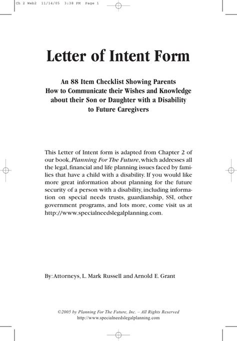 letter  intent sample nxsone