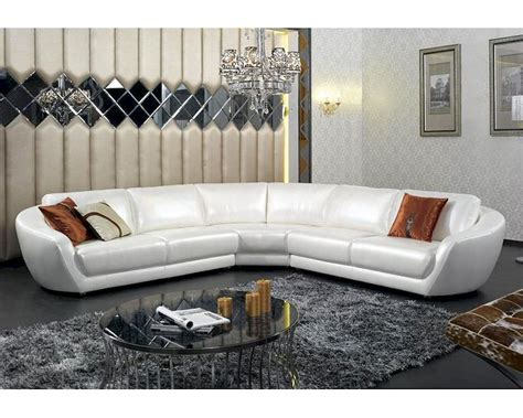 contemporary italian leather sectional sofas contemporary italian pearl leather sectional sofa 44l6099
