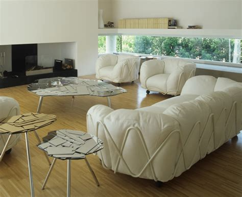 sofa big big fluffy sofas corbeille sofa by edra