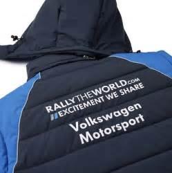 veste sans manche volkswagen motorsport team bleue pour homme
